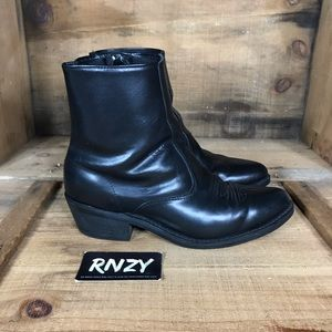 Laredo Leather Long Haul Side Zip Boot Extra Wide
